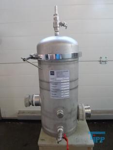 details anzeigen - Edelstahl Filtergehäuse,  Kerzenfiltergehäuse, Edelstahlfilter, Feinstfilter für Flüssigkeiten