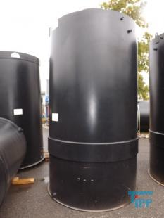 details anzeigen - Rundbehälter / Behandlungsbehälter / Speicherbehälter / Lagertank
