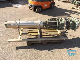 details anzeigen - Unterwassermotorpumpe mit Pumpenkopf aus Messing
