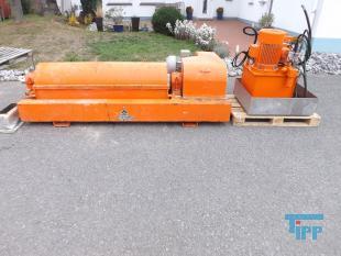 details anzeigen -  KHD Zentrifuge mit Viscotherm Hydraulik / Dekanter / Schlammzentrifuge zur Schlammentwässerung/Klärschlammentwässerung