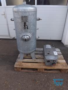 details anzeigen - Drehschieber - Verdichter, Kompressor, Spülluftgebläse mit Druckbehälter