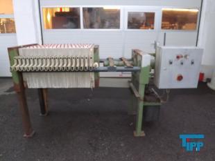 details anzeigen - 500er MSE Kammerfilterpresse mit Motorhydraulik