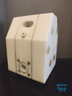 details anzeigen - ALMATEC A25 Membranpumpe, Druckluftmembranpumpe / diaphragm pump