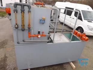 details anzeigen - Dosieranlage, Polymeransetz- und Dosierstation/Polyelektrolyt-Ansetzstation, Stahl