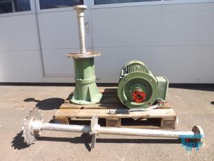 details anzeigen -  Dispergierrührwerk mit Schaltschrank und Frequenzumformer und Stahlbau, Dissolvermischer, Dispergiermischer, Dispergator