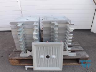 details anzeigen - 400er Filterplatten für Kammerfilterpresse z.B. Fabrikat NETZSCH