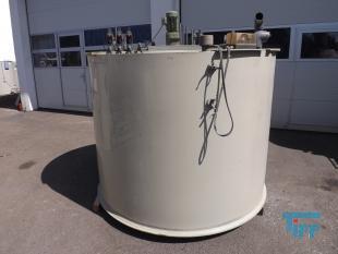 details anzeigen - Chargenbehandlungsbehälter, Kunststoffbehälter, Neutralisationsbehälter, Abwasserneutralisation, PP Rundbehälter