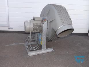 details anzeigen - HÜRNER-FUNKEN-Radialventilator , Ventilator, Gebläse für agressive Gase