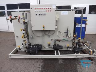 details anzeigen - Kühlwasserrückkühlanlage mit Kühlturm/ Kühlturmanlage mit Kreislaufbehälter und Plattenwärmetauscher