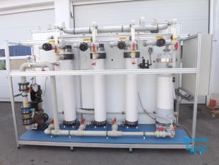 details anzeigen - Ultrafiltrationsanlage für die Partikelfiltration, Membrananlage mit INGE-Ultrafiltrationsmodulen, Filtrationsanlage,
