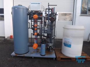 details anzeigen - EUROWATER Mehrschicht-Wasserenthärtungsanlage auf Ionenaustauscherbasis mit Verrohrung und Ventilen