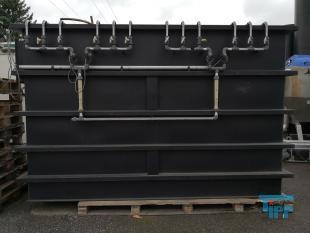details anzeigen - Biologie / Festbettreaktor / Festbett Kläranlage / Abwasserbehälter als biologische Versuchs-Abwasseranlage