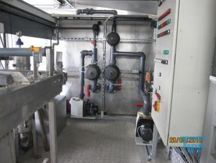 details anzeigen - Abwasseranlage/ Chargenbehandlungsanlage mit Dosieranlage und Bandfilter