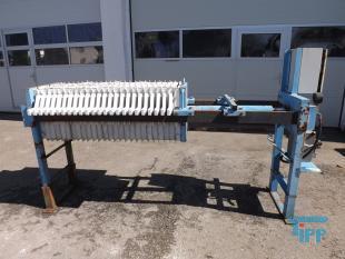 details anzeigen - manuelle Kammerfilterpresse mit Motorhydraulik