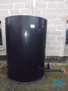 details anzeigen - Behälter mit Flachboden / Rundbehälter / Behandlungsbehälter /  Speicherbehälter / Tank