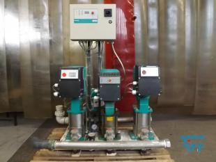 details anzeigen - Pumpstation mit 3 Kreiselpumpen und Frequenzumformer /Druckerhöhung/ Pumpe
