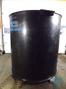 details anzeigen - Behälter aus Polyethylen mit Flachboden / Rührwerksbehälter / Rundbehälter / Behandlungsbehälter /  Speicherbehälter / Tank