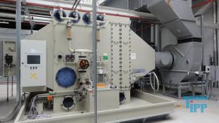 details anzeigen -  Kreuzstromwäscher / Luftwäscher mit Füllkörpern/ Luftwäscher /  Abluftanlage / Gaswäscher für saure Gase