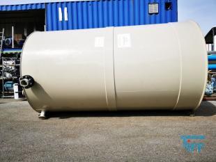 details anzeigen - Rundbehälter mit Flachboden / Vorlagebehälter / Speicherbehälter / Tank