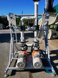 details anzeigen - Pumpstation mit zwei Munsch Chemie-Kreiselpumpen