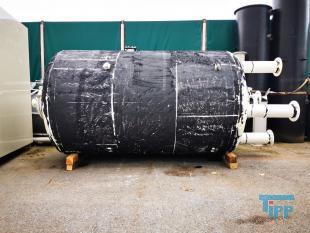 details anzeigen - Aktivkohlefilterbehälter / Sandfilter mit Düsenboden / Druckbehälter mit Düsenbodenaus Stahl / Stahlbehälter / Ionentauscher / Adsorber / Kiesfilter